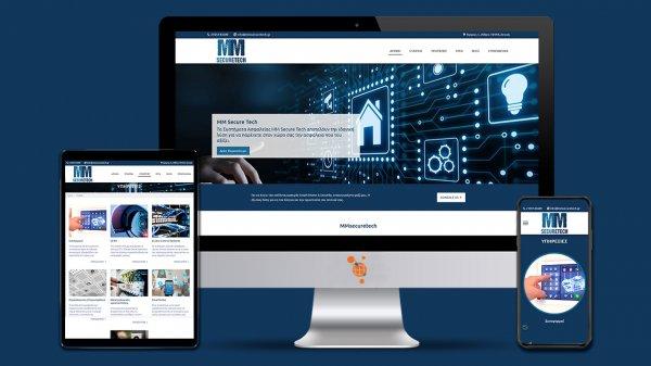 MMSecureTech - Κατασκευή ιστοσελίδας συστημάτων ασφαλείας και ηλεκτρολογικών εγκαταστάσεων