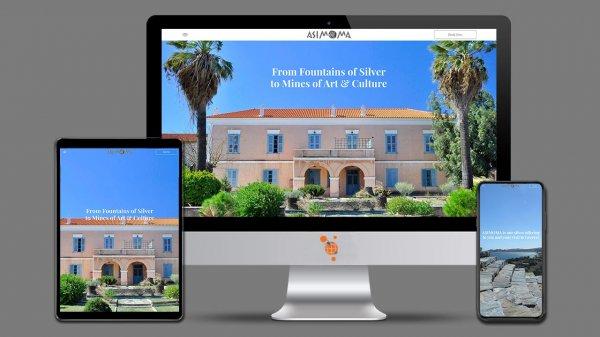 Asimoma - Κατασκευή Ιστοσελίδας για τουριστικές δραστηριότητες