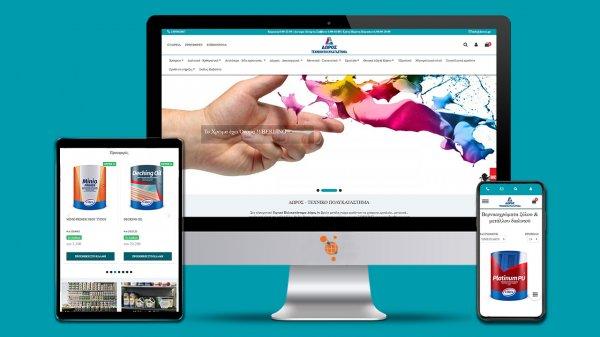 Δώρος - Τεχνικό πολυκατάστημα - Κατασκευή e-shop του τεχνικού πολυκαταστήματος Δώρος
