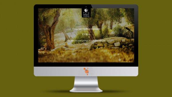 Evnia Olive Oil - Κατασκευή Ιστοσελίδας για εταιρεία εξαγωγής ελαιόλαδου
