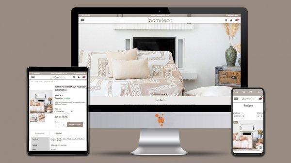 Loomdeco - Κατασκευή E-Shop της εταιρίας Loomdeco